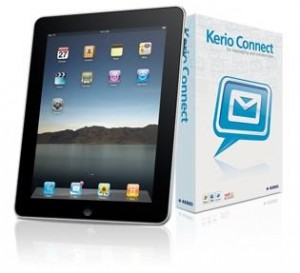 Kerio Connect integrates seamlessly with the iPad, iPhone & iPod touch